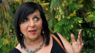 Maria Pilar Abel, 62 ans, le 27 juin 2017 à Barcelone.