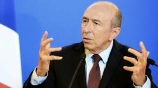 وزير الداخلية الفرنسي جيرار كولومب 17 تشرين الثاني/نوفمبر 2017.