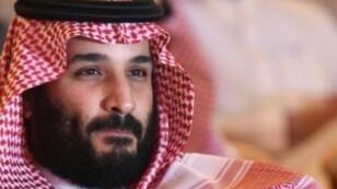 الأمير محمد بن سلمان خلال منتدى للاستثمار في الرياض، في 24 تشرين الأول/أكتوبر 2018