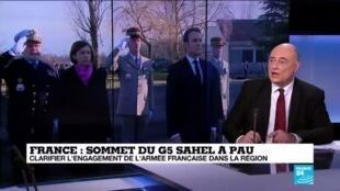 """2020-01-13 16:01 PAU : En Afrique """"le sentiment anti-français se développe"""" parfois avec l'aval du pouvoir en place"""
