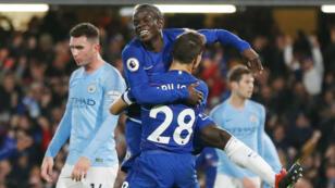 Chelsea, bourreau d'un Manchester City jusqu'alors irréprochable.