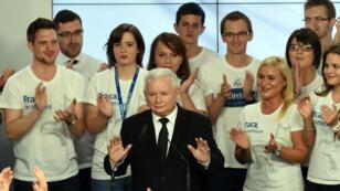 """زعيم حزب """"القانون والعدالة"""" ياروسلاف كاتشينسكي"""