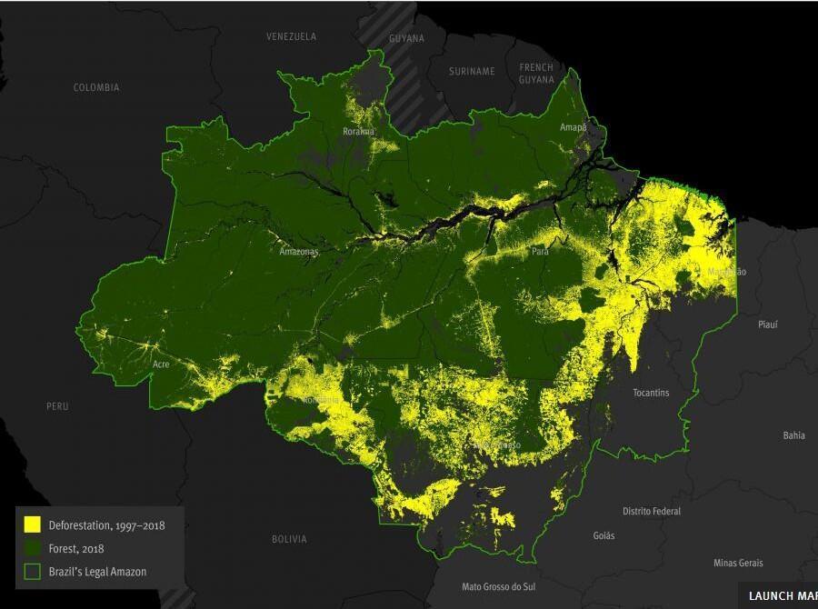 EM - Carte Amazonie