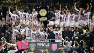 Le Stade français a été sacré champion de France de rugby en battant en finale Clermont (12-6).