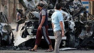 """العديد من التفجيرات التي تستهدف مناطق ذات غالبية شيعية يتبناها تنظيم """"الدولة الإسلامية"""""""
