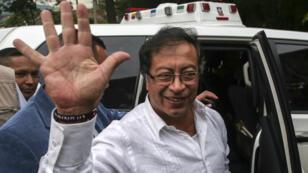 Gustavo Petro, 58 ans, ancien maire de gauche de Bogota et candidat du mouvement Colombie Humaine.