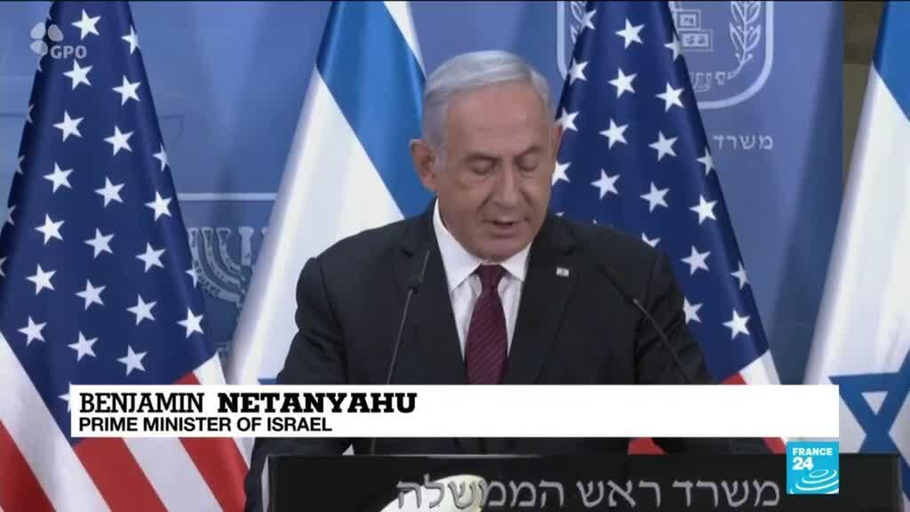 2021-04-12 15:01 Israel's Netanyahu says will not allow Iran to obtain nuclear weapons