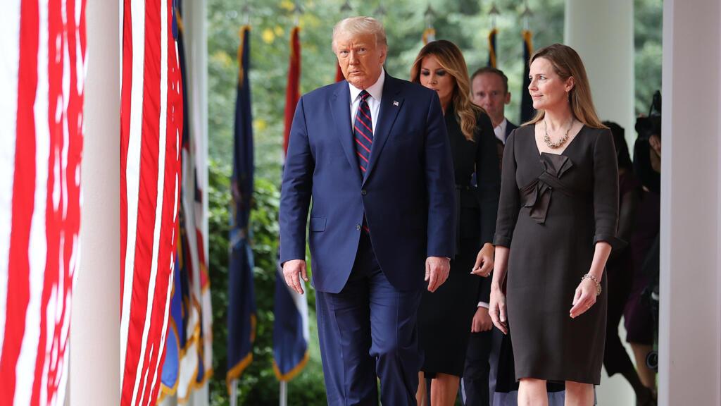 """Cour suprême : """"La campagne présidentielle américaine passe au second plan"""""""