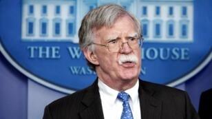 مستشار الأمن القومي الأمريكي المتشدد جون بولتون