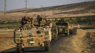 Des soldats en Turquie.