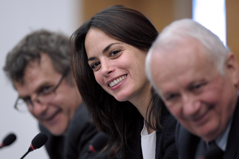 L'actrice Bérénice Béjo défend à Strasbourg l'exception culturelle