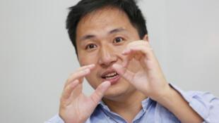 El científico chino He Jiankui realizó el anuncio de la modificación genética en noviembre de 2018. 18 de julio de 2017.