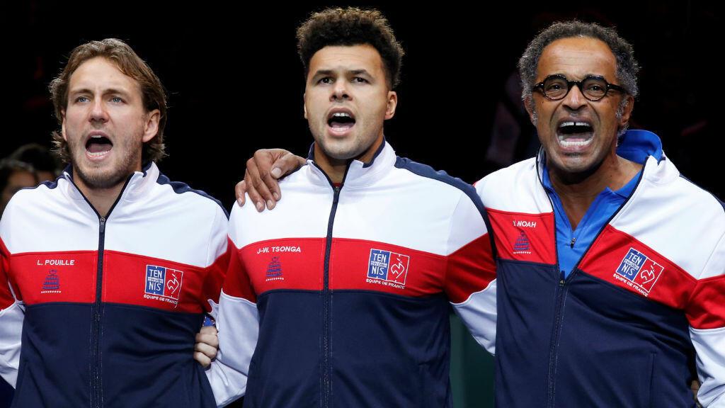 Le capitaine Yannick Noah a opté pour une équipe menée par Jo-Wilfried Tsonga et Lucas Pouille.
