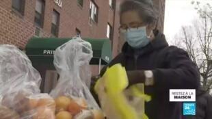 2020-03-30 13:10 Covid-19 : Aux États-Unis, les banques alimentaires assaillies par les familles sans ressources