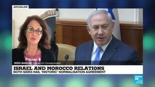 2020-12-11 08:02 Israel-Morocco relations: Both sides hail 'historic' normalisation agreeent