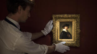The portrait was painted in 1632 when Rembrandt was 26