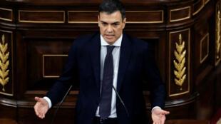 رئيس الحكومة الإسباني الجديد بيدرو سانشيز