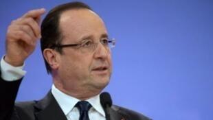 """À l'occasion de sa rentrée politique, François Hollande s'est confié au """"Monde""""."""