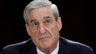 روبرت مولر المحقق المكلف بقضية التدخل الروسي في الانتخابات الرئاسية الأمريكية.