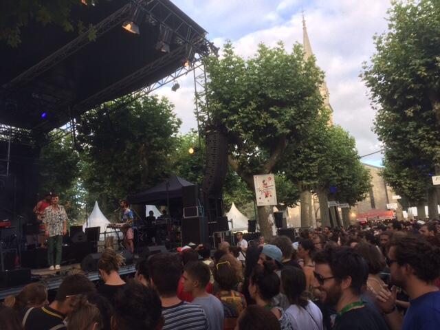 L'artiste Orelsan se produit sur la grande scène, jeudi 15 août.