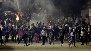 Tunisia clashes continue