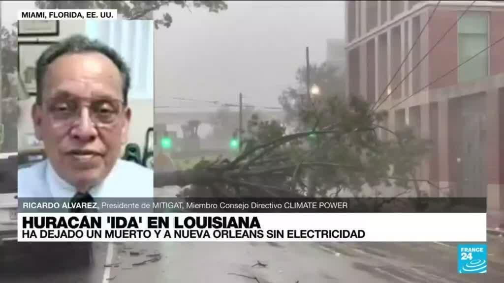 """2021-08-30 22:05 Ricardo Álvarez: """"El calentamiento global ha alterado los patrones normales de los huracanes"""""""