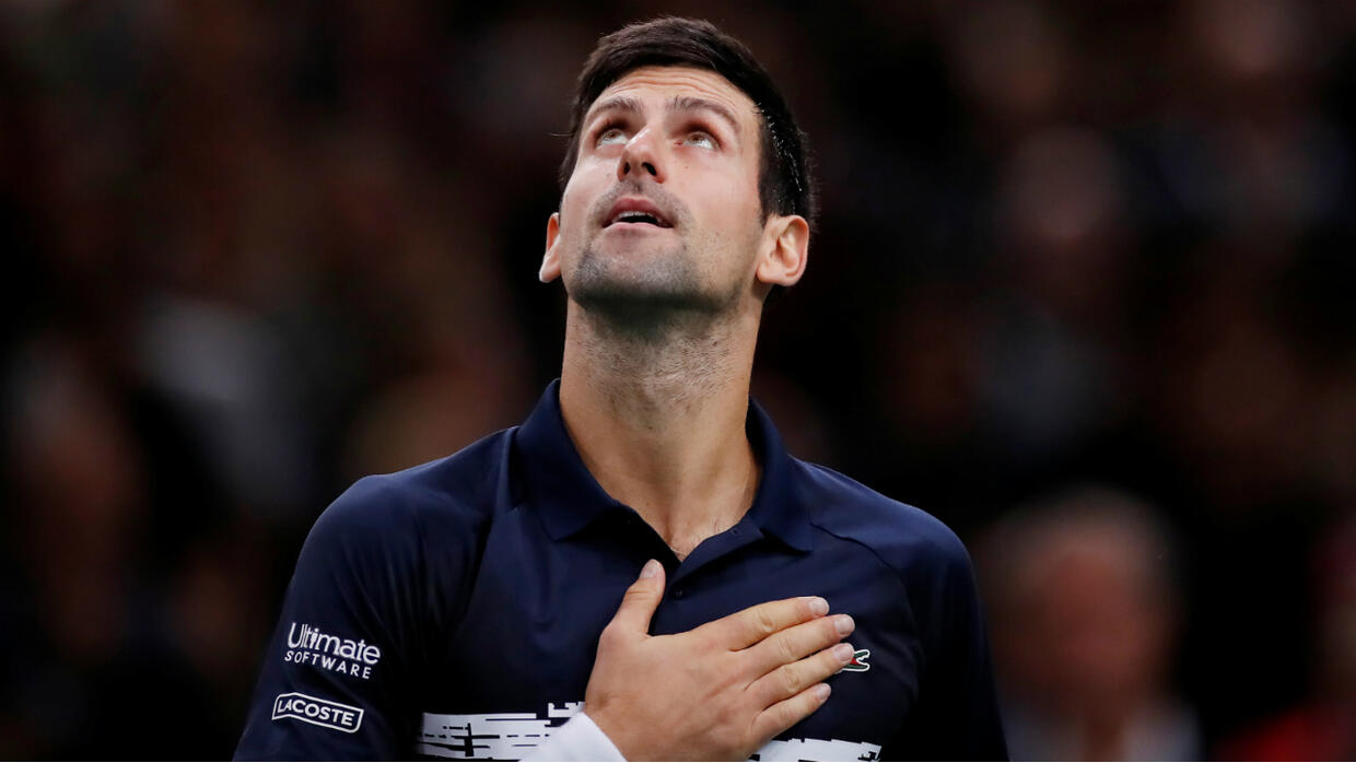 Djokovic the Paris Master for a fifth time, sweeping aside Shapovalov