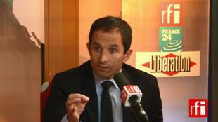 Benoit Hamon, député socialiste.