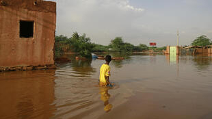Floods in Sudan are threatening to swamp an ancient archaeological site with some of the highest water levels on record