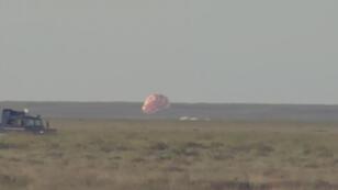 Thomas Pesquet s'est posé au Kazakhstan le 2 juin à 16h10 après 200 jours dans l'espace.