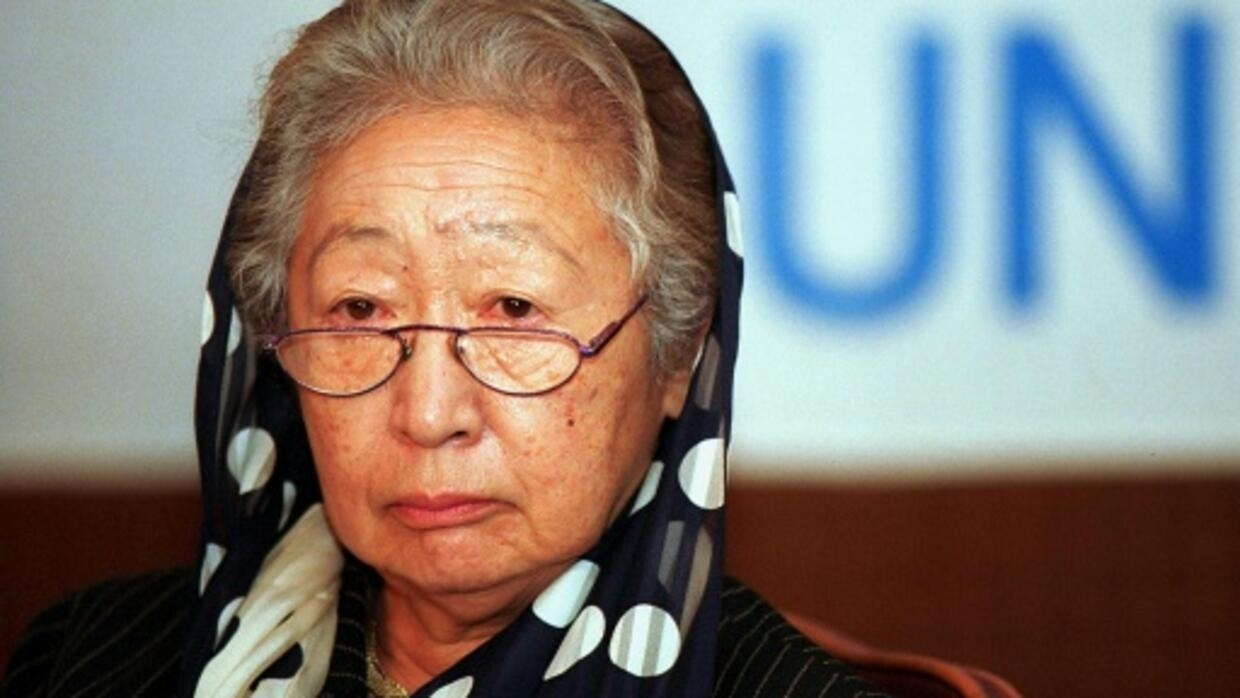 <b>Sadako Ogata, first female UN refugee chief, dies at 92</b>