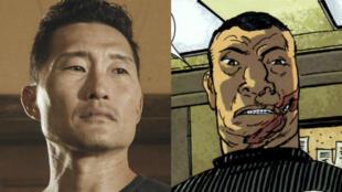 """Daniel Dae Kim au casting de """"Hellboy"""" après la polémique de whitewashing."""
