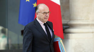 Le ministre de l'Intérieur Bernard Cazeneuve, le 10 septembre 2014