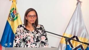 La presidenta del CNE en Venezuela, Indira Alfonzo, dio a conocer la fecha de las elecciones Parlamentarias en ese país.