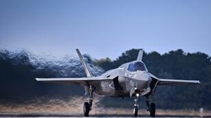 A US F-35 fighter jet: Washington is warning Turkey that it will end a joint manufacturing program for the aircraft with Turkish companies if Ankara buys a Russian missile defense system