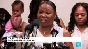 """2020-06-16 09:14 Mort de Rayshard Brooks : """"Nous réclamons justice mais aussi des changements"""""""