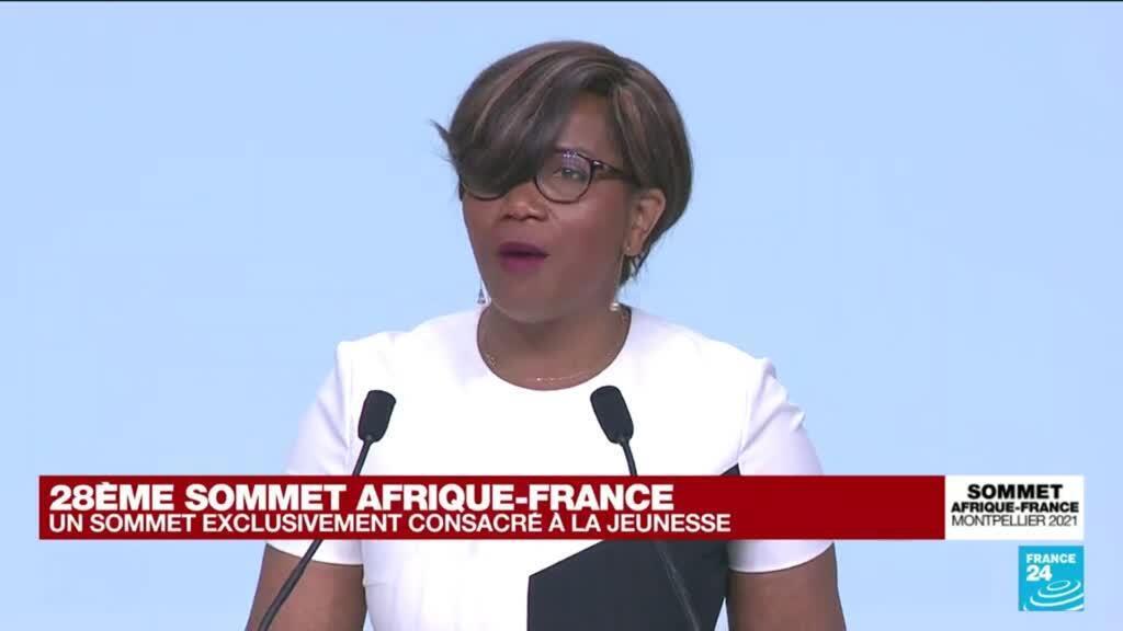 2021-10-08 16:33 La ministre Elisabeth Moreno s'exprime au Sommet Afrique-France