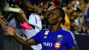 Didier Drogba portera bien le maillot de l'Impact Montréal en MLS en 2016.