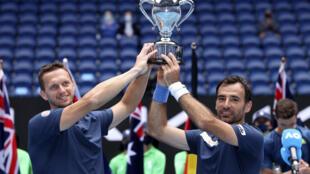 Ivan Dodig and Filip Polasek won the Australian Open doubles title