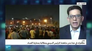 مراسل فرانس24 في القاهرة تامر عز الدين.