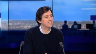 Loïc Tanguy, fondateur de la société Les Grappes