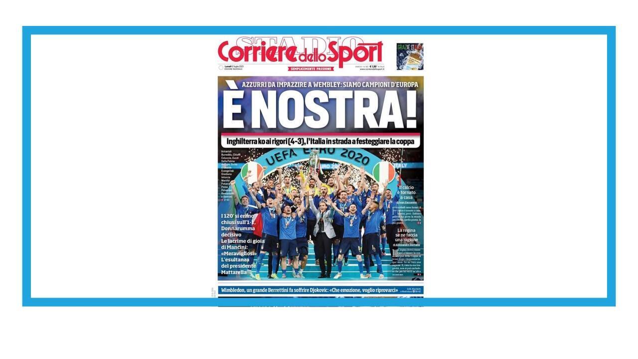 Victoire de l'Italie à l'Euro 2020