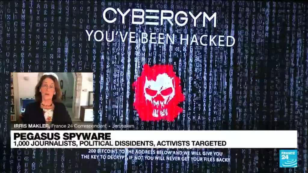 2021-07-19 12:01 1,000 journalists,politicians and activists targeted by Pegasus spyware