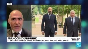 """2020-05-10 12:05 Journée de l'abolition de l'esclavage : """"La France n'a pas voulu se voir comme un pays esclavagiste"""""""
