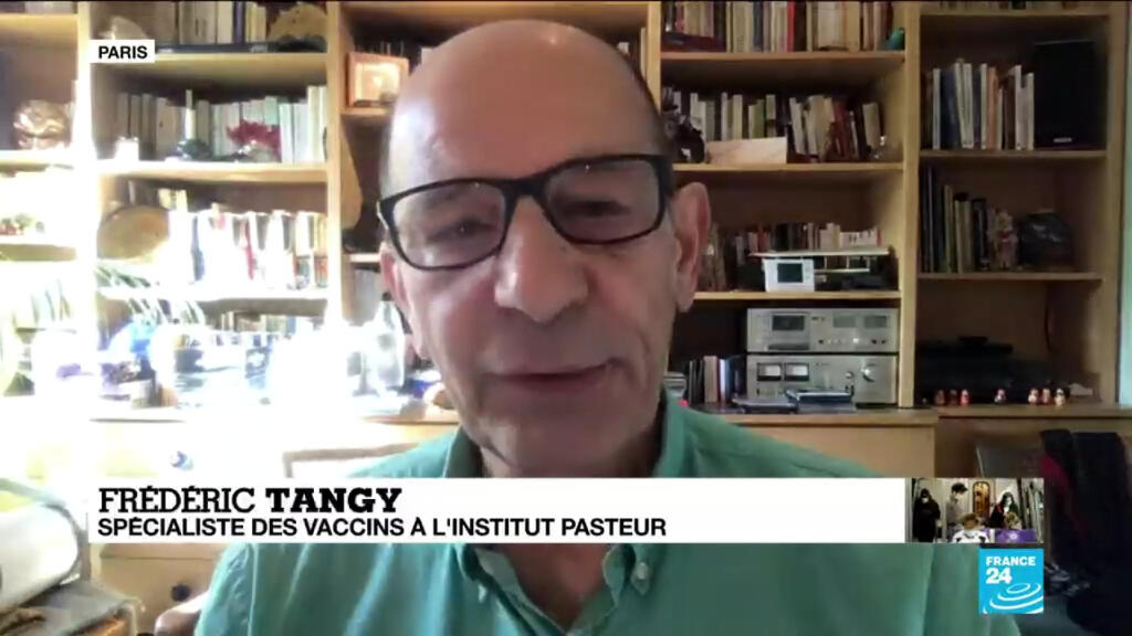 """Tests massifs de vaccins contre le Covid-19 aux États-Unis : """"Du jamais vu"""" pour Frédéric Tangy"""