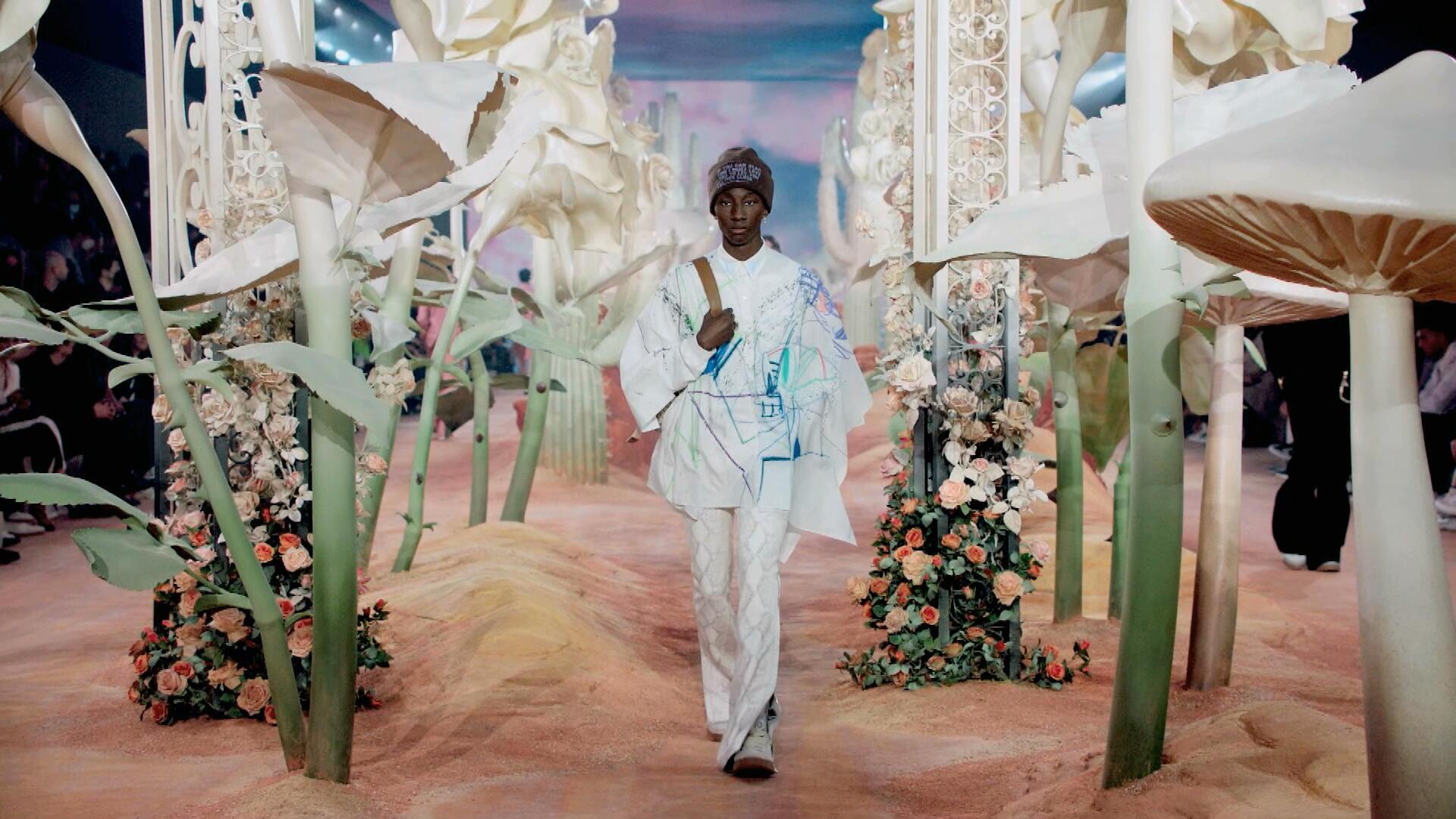 Mode masculine printemps-été 2022