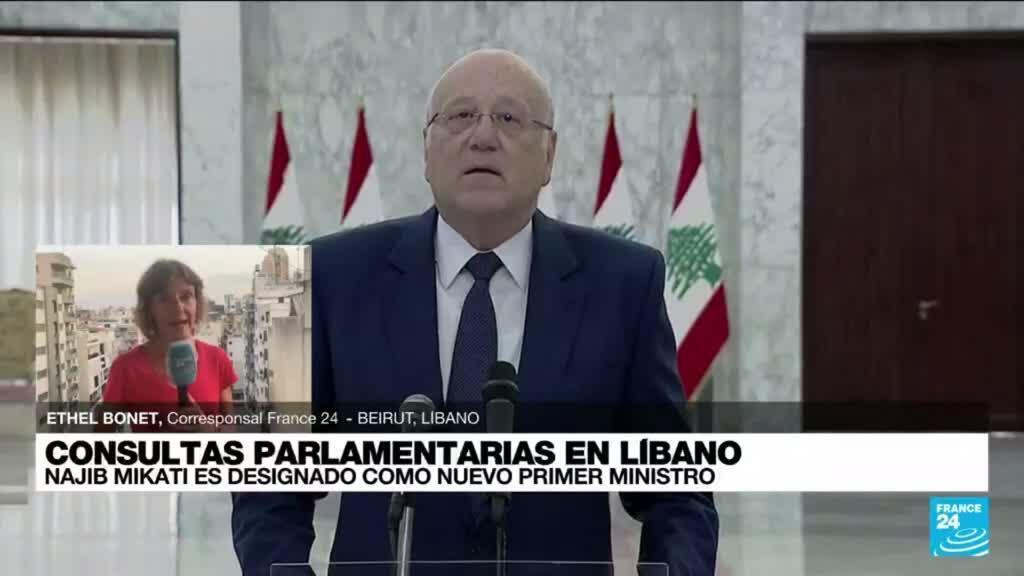 2021-07-26 22:02 Informe desde Beirut: Najib Mikati fue designado para formar gobierno