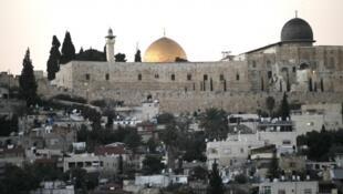 L'esplanade des mosquées, à Jérusalem.