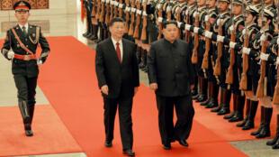 La visita que Kim Jong realizó a China ha sido bien aceptada por la comunidad internacional, en especial por Estados Unidos