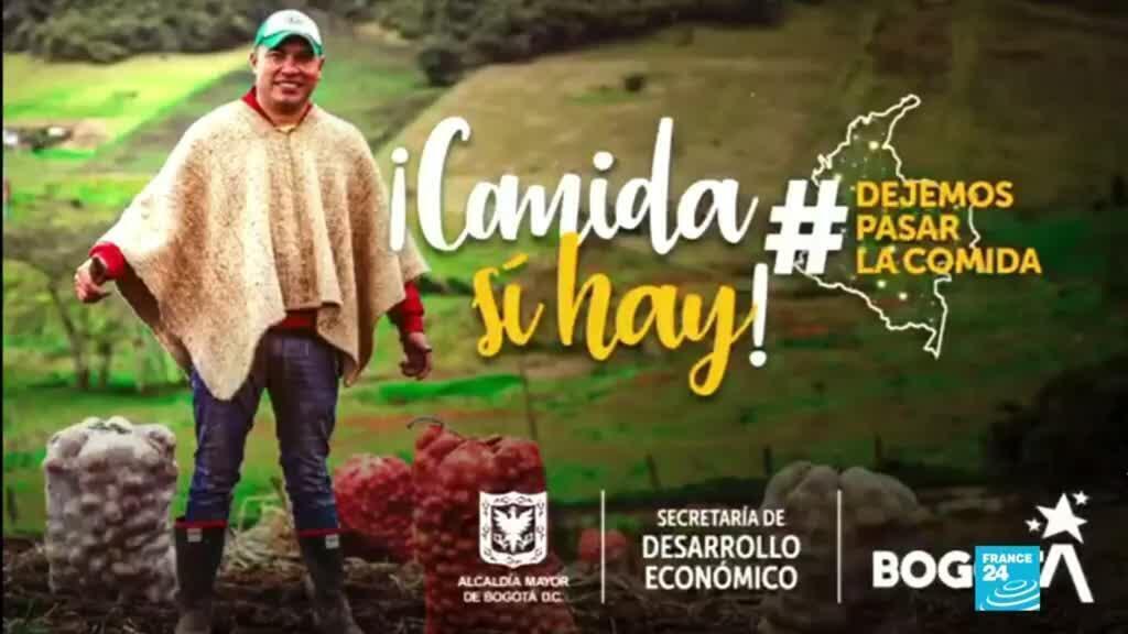 2021-05-08 14:31 Colombia: Bogotá siente el desabastecimiento de alimentos por bloqueo de vías